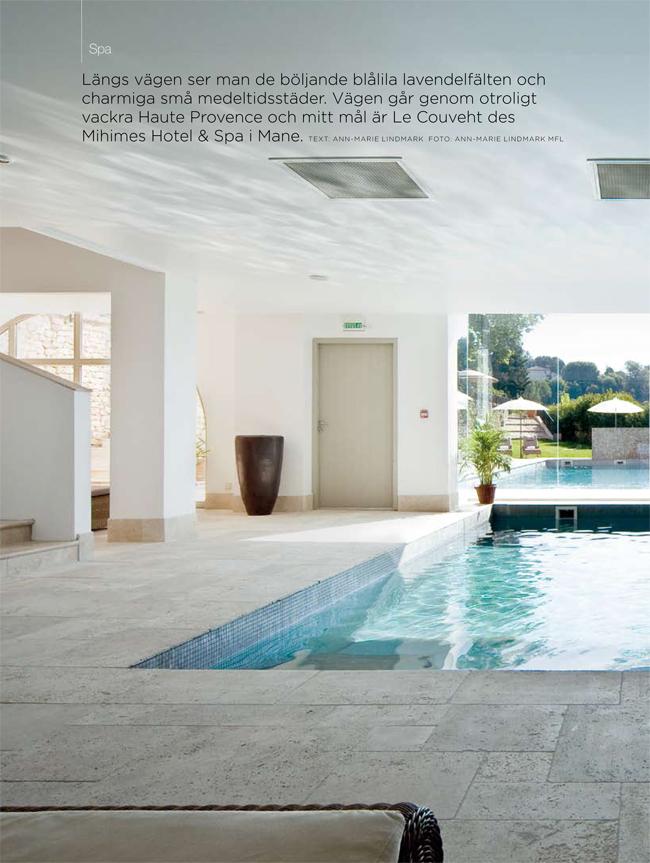Lifestyle Hälsa & Skönhet, spa i Frankrike - Ann-Marie Lindmark