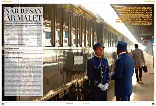 Orient Express i Travel Report - Lars Lindmark